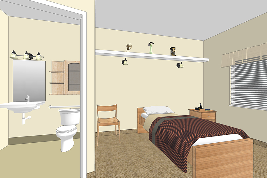 Delta Floorplans - Crossroads Senior Living